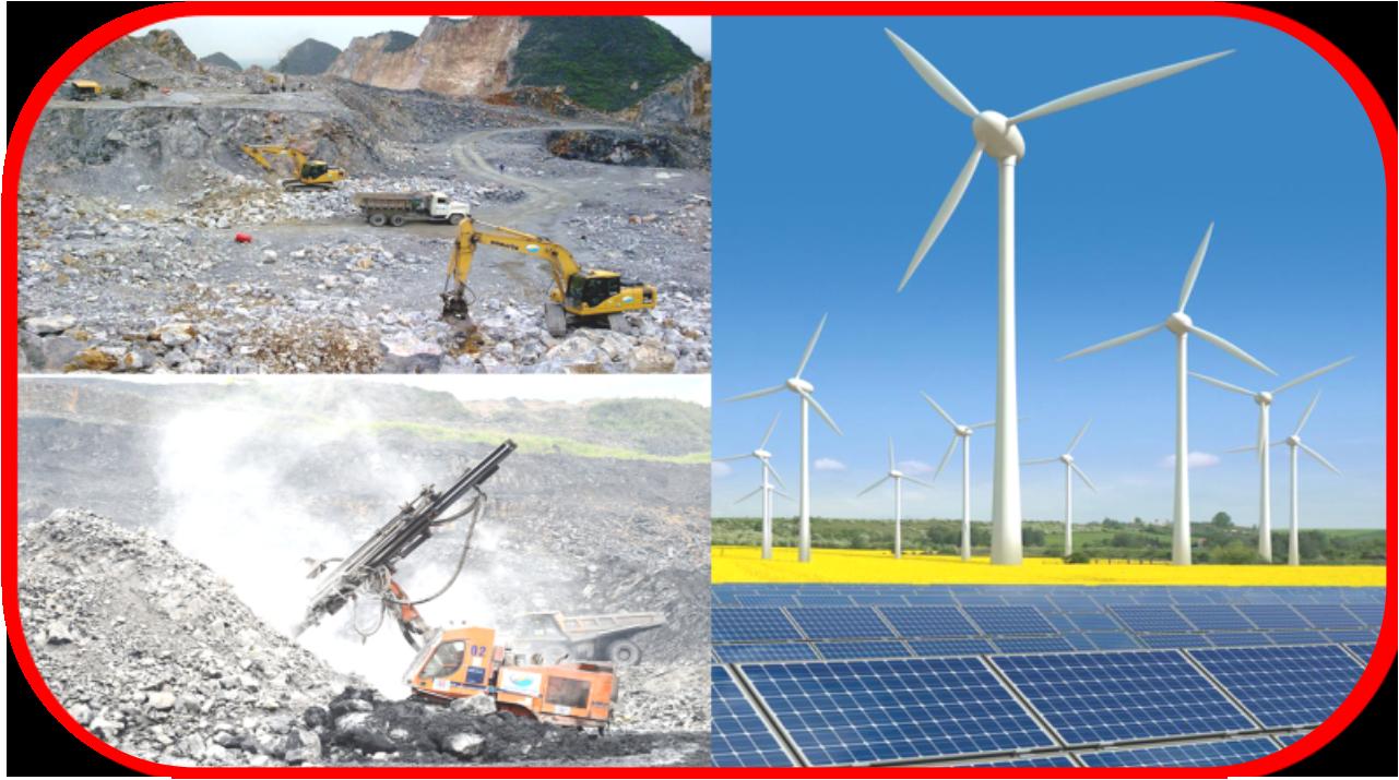 khai thác khoáng sản,năng lượng